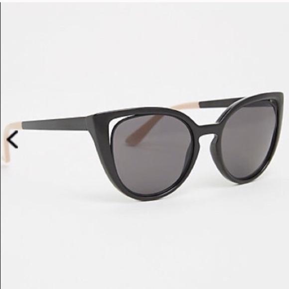 9c6c5c75d0ffc Torrid black cut out cat eye sunglasses